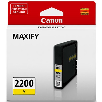 PGI-2200Y Ink Cartridge - Canon Genuine OEM (Yellow)