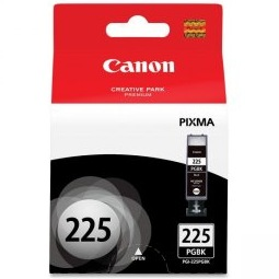 PGI-225BK Ink Cartridge - Canon Genuine OEM (Pigment Black)