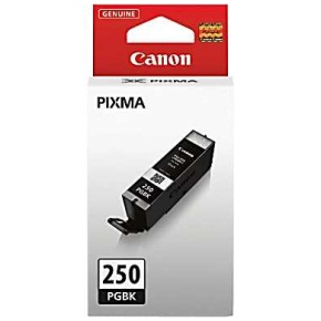 PGI-250PGBK Ink Cartridge - Canon Genuine OEM (Black)