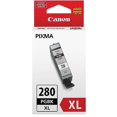PGI-280XL BK Ink Cartridge - Canon Genuine OEM (Black)