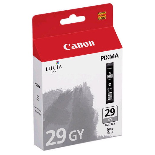 PGI-29GY Ink Cartridge - Canon Genuine OEM (Gray)