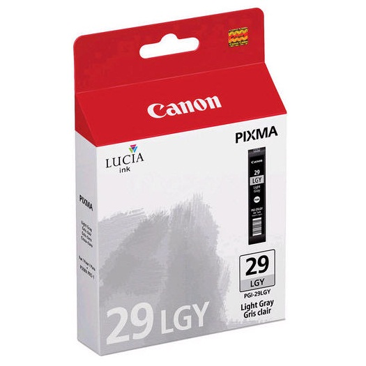 PGI-29LGY Ink Cartridge - Canon Genuine OEM (Light Gray)