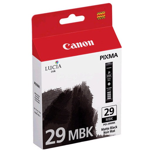 PGI-29MBK Ink Cartridge - Canon Genuine OEM (Matte Black)