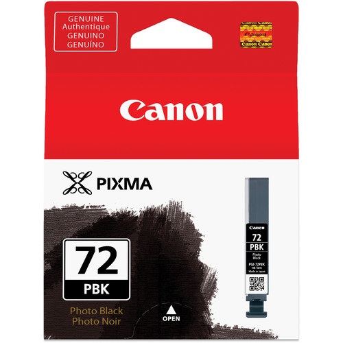 PGI-72PBK Ink Cartridge - Canon Genuine OEM (Photo Black)