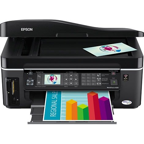 Epson WorkForce 600 Ink Cartridges