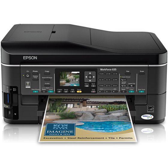 epson workforce 645 printer driver
