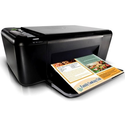 HP Deskjet F4580 Ink Cartridges