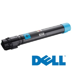 330-6142 Toner Cartridge - Dell Genuine OEM (Cyan)