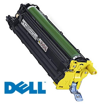 593-BBPI Drum Unit - Dell Genuine OEM (Yellow)