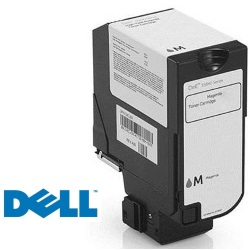 593-BBXV Toner Cartridge - Dell Genuine OEM (Magenta)