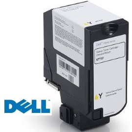 593-BBYB Toner Cartridge - Dell Genuine OEM (Yellow)