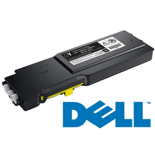593-BCBD Toner Cartridge - Dell Genuine OEM (Yellow)