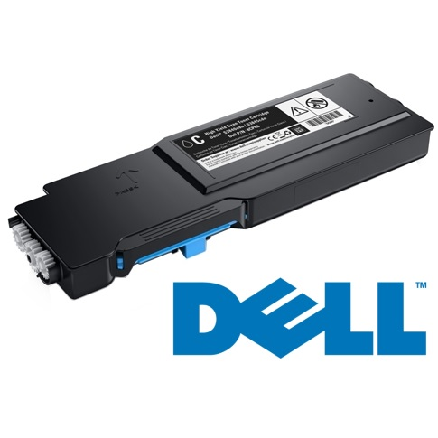 593-BCBF Toner Cartridge - Dell Genuine OEM (Cyan)