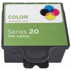 Series 20 Color Ink Cartridge - Dell Compatible (Color)