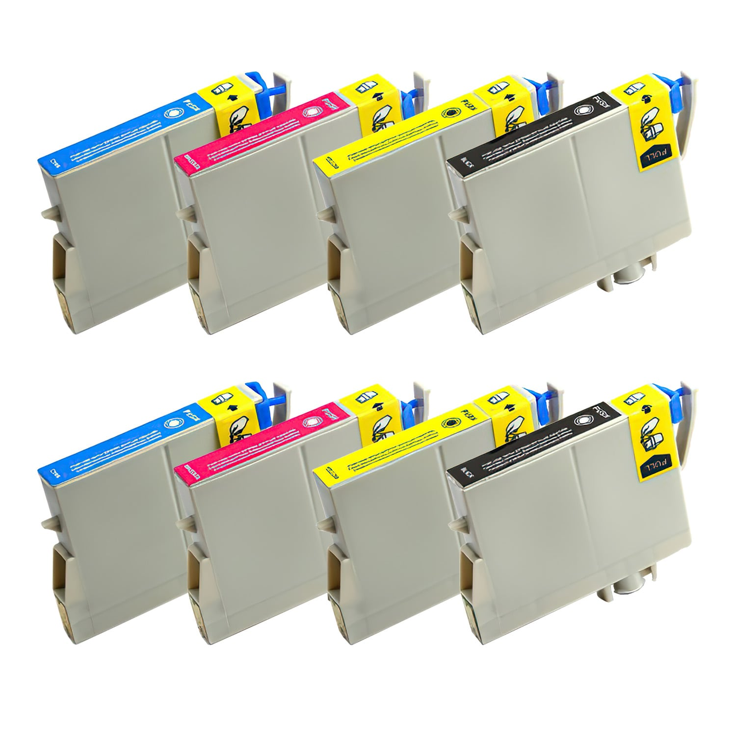 Remanufactured Epson 252 Inkjet Pack - 8 Cartridges
