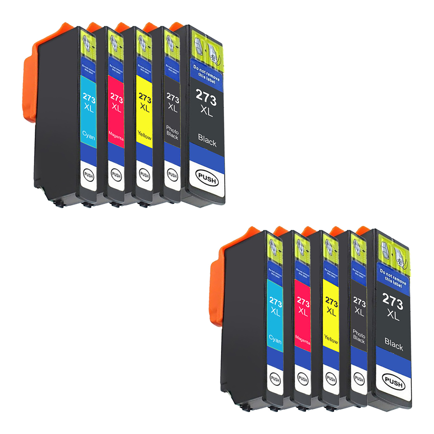 Remanufactured Epson 273XL Inkjet High Capacity Pack - 10 Cartridges