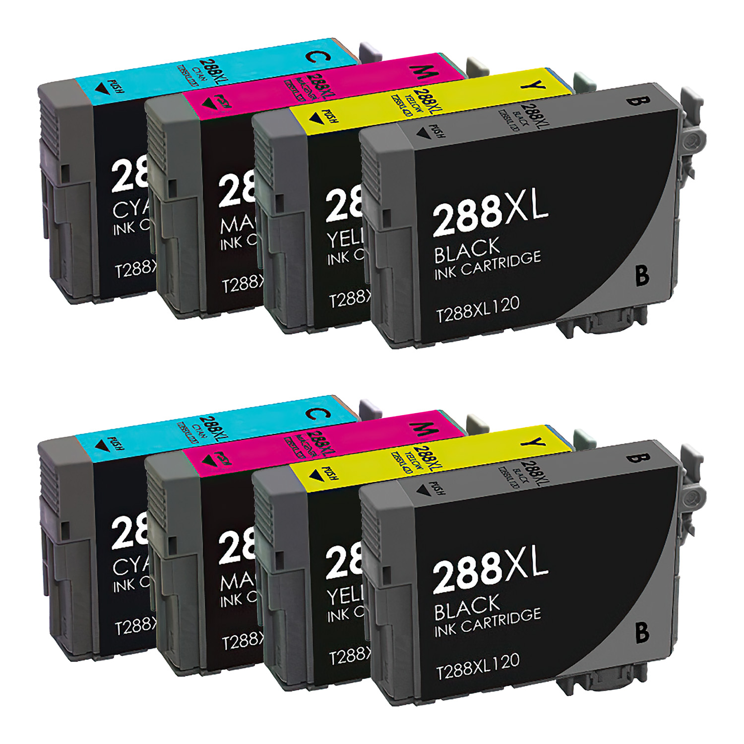 Remanufactured Epson 288XL Inkjet High Capacity Pack - 8 Cartridges