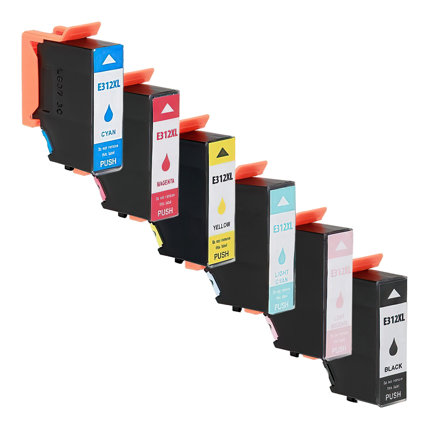 Remanufactured Epson 312XL Inkjet High Capacity Pack - 6 Cartridges
