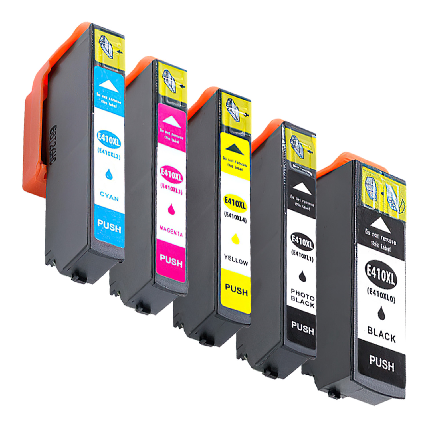 Remanufactured Epson 410XL Inkjet High Capacity Pack - 5 Cartridges