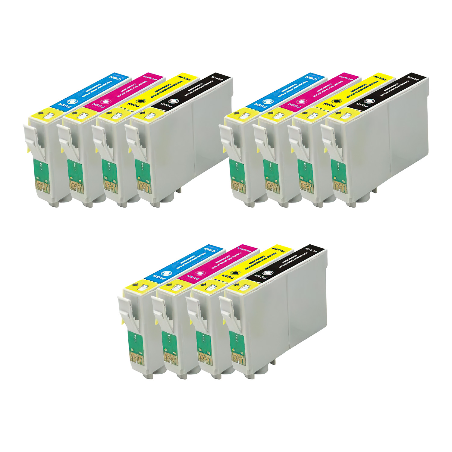 Remanufactured Epson 88 Inkjet Pack - 12 Cartridges