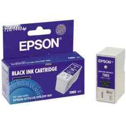 T003011 Ink Cartridge - Epson Genuine OEM (Black)