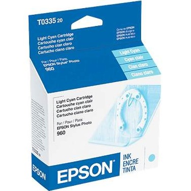 T033520 Ink Cartridge - Epson Genuine OEM (Light Cyan)