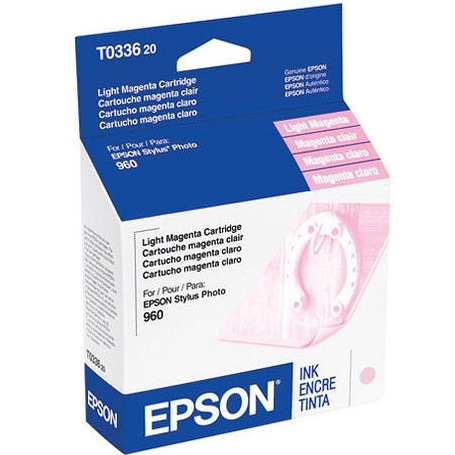 T033620 Ink Cartridge - Epson Genuine OEM (Light Magenta)