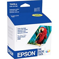 T041020 Ink Cartridge - Epson Genuine OEM (Color)