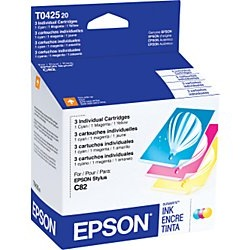 T042520 Ink Cartridge - Epson Genuine OEM (Bundle Pack)