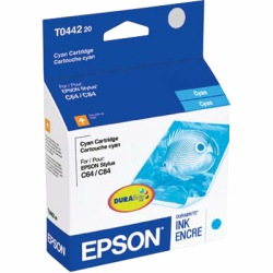 T044220 Ink Cartridge - Epson Genuine OEM (Cyan)