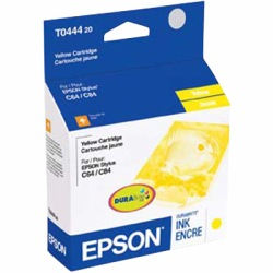 T044420 Ink Cartridge - Epson Genuine OEM (Yellow)