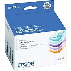 T048920 Ink Cartridge - Epson Genuine OEM (Bundle Pack)