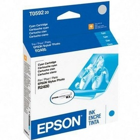 T059220 Ink Cartridge - Epson Genuine OEM (Cyan)