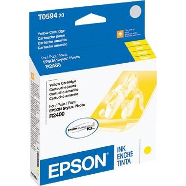 T059420 Ink Cartridge - Epson Genuine OEM (Yellow)
