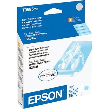 T059520 Ink Cartridge - Epson Genuine OEM (Light Cyan)