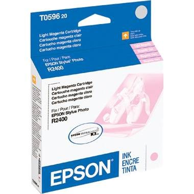 T059620 Ink Cartridge - Epson Genuine OEM (Light Magenta)