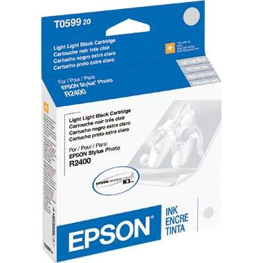 T059920 Ink Cartridge - Epson Genuine OEM (Light Light Black)