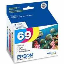 T069520 Ink Cartridge - Epson Genuine OEM (Bundle Pack)