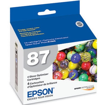 T087020 Ink Cartridge - Epson Genuine OEM (Multipack)