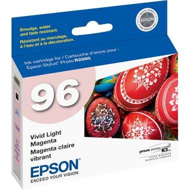 T096620 Ink Cartridge - Epson Genuine OEM (Light Magenta)