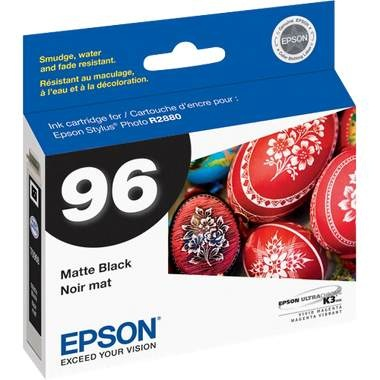 T096820 Ink Cartridge - Epson Genuine OEM (Matte Black)