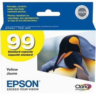 T099420 Ink Cartridge - Epson Genuine OEM (Yellow)