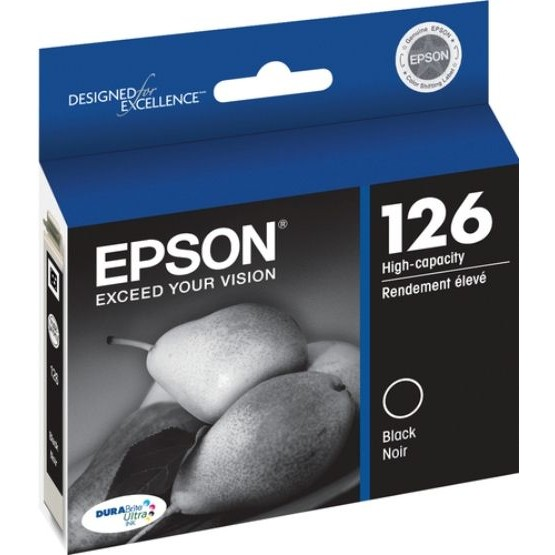 Genuine Epson T126120 Black Ink Cartridge