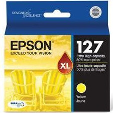 T127420 Ink Cartridge - Epson Genuine OEM (Yellow)