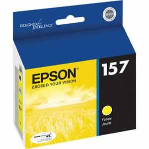 T157420 Ink Cartridge - Epson Genuine OEM (Yellow)