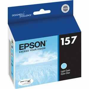 T157520 Ink Cartridge - Epson Genuine OEM (Light Cyan)