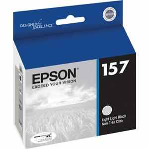 T157920 Ink Cartridge - Epson Genuine OEM (Light Light Black)