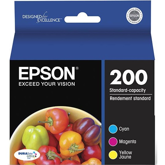 T200520 Ink Cartridge - Epson Genuine OEM (Bundle Pack)