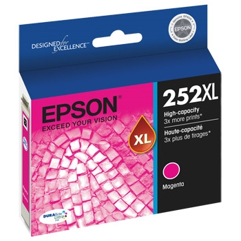 T252XL320 Ink Cartridge - Epson Genuine OEM (Magenta)