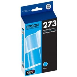 Genuine Epson T273220 Cyan Ink Cartridge